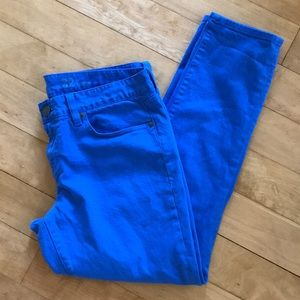 J.Crew Blue Ankle Jeans size 32
